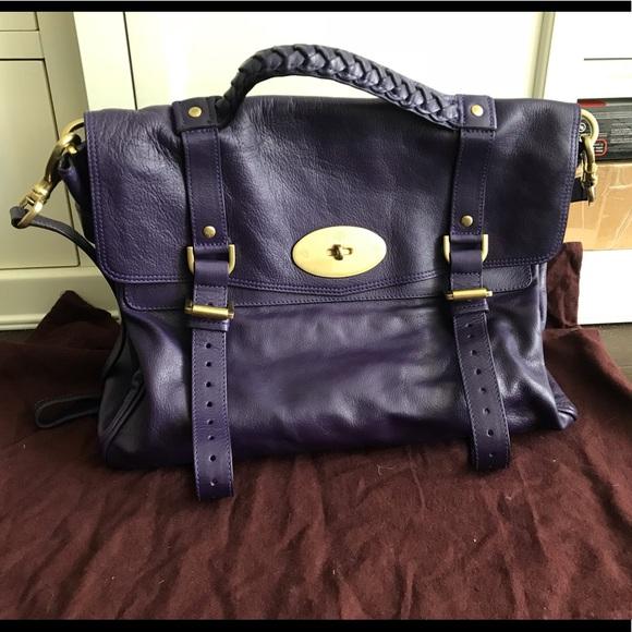 c0055b2ea85 Mulberry Bags   Oversized Alexa   Poshmark
